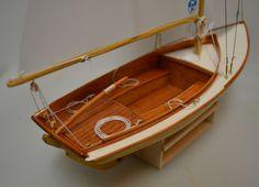 by - Gallery - Model Ship World Wooden Model Boats, Wooden Boats, Buzzards Bay, Small Boats, Miniature Houses, Model Ships, Dory, Sailboat, Sailing Ships