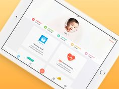 Alongside iPhone and Watch, we also designed an iPad version of the Baby Bundle. Keeping in mind the possibilities that iOS 9 split screen were offering, we designed the app the same way we would ...