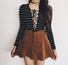 Shared by Find images and videos about fashion, style and outfit on We Heart It - the app to get lost in what you love. Look Fashion, Teen Fashion, Autumn Fashion, Fashion Outfits, Womens Fashion, Fall Outfits, Casual Outfits, Cute Outfits, Festival Looks