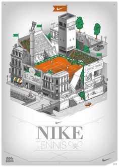 vector, illustration, nike, tennis