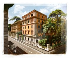 W Rome will become a buzzing centrepiece in the Via Veneto district. Spanning a pair of adjacent 19th century properties on Via Liguria, the hotel will feature 159 stylish guest rooms and suites. opening in 2021.  The structures will be carefully renovated and re-imagined to refresh its historic elements, while infusing the W brand's bold and inspiring design.