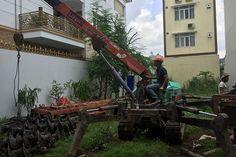 Ép cọc bê tông tại Tỉnh Thái Nguyên cọc bê tông và nhân công hết bao tiền?