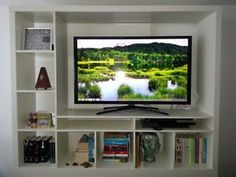 IKEA LAPPLAND TV storage unit fits up to a 55 ""
