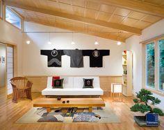 japanese living room furniture design | Asian Living Room design by Boston Design-build Feinmann, Inc.