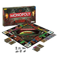 Aunque no hables Klingon podrás jugar a este Monopoly Star Trek Monopoly Board, Monopoly Game, Star Trek Klingon, Star Trek Merchandise, New Star Trek, Star Wars, Fans, Board Games For Kids, Star Trek Universe