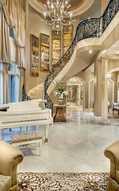 Captivating Luxury Stairway   Luxury Living For You