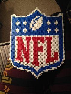 NFL Logo perler beads by fleaing on deviantART