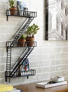NY Fire Escape Shelf