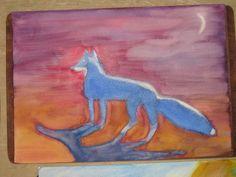Waldorf ~ 4th grade ~ Human & Animal ~ Fox ~ watercolor painting