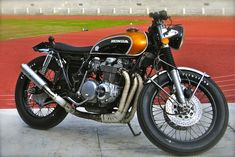 Honda CB750 and CB500 Four by Ottodrom   The Garage Cafe