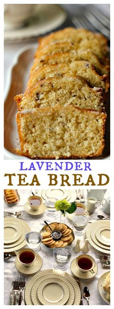 Downton Abbey Lavender Tea Bread