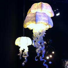 Parmi les tendances 2014: les méduses lumineuses par Geraldine Gonzalez
