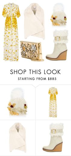 """Winter Spring"" by leiastyle on Polyvore featuring Dolce&Gabbana, Alexis, STELLA McCARTNEY and Moncler"