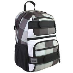 Eastsport Double Strap Skater Backpack Checkerboard >>> Click on the image for additional details.