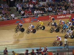 Olympics Day 10 - Track cycling, via Flickr.