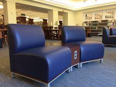 Nashville Public Library (Nashville, TN) Swift lounge seating in collaborative/open space. #NationalOffice #FurnitureWithPersonality