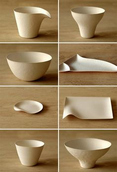 Disposable Paper Tableware by Wasara