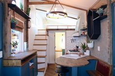 Tiny House Interior - Urban Craftsman by Handcrafted Movement