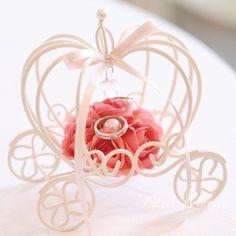 シンデレラリングピロー ピンク(キット) <シェリーマリエ・リングピローコーナー> Diy Diwali Decorations, Diwali Diy, Ring Pillow Wedding, Tiaras And Crowns, Orchids, Wedding Rings, Place Card Holders, Engagement Rings, Pillows