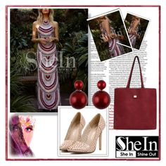 """SheIn 73"" by djulovic-mirela ❤ liked on Polyvore featuring mode"