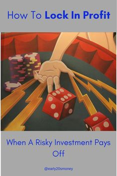 Learn here how you can reduce your risk by deciding to lock in profit on your investment! This is a GREAT strategy after a large gain which leaves you wondering when the bull run will end. Ways To Save Money, Money Tips, How To Make Money, Best Way To Invest, Investment Advice, Early Retirement, Budgeting Money, Investing Money, Best Investments