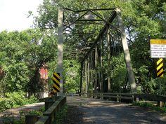 Nobles Mill Bridge crossing Deer Creek in Harford County Maryland by litlesam, via Flickr