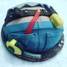 Carpenter birthday cake