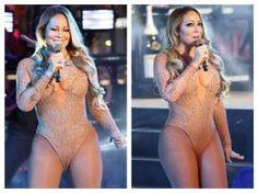 Mariah Carey Hot Cleavage Show Photos