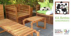 Bambus Terrassendielen, Möbel und mehr bei Kul Bamboo | Gutschein im Wert von 100 Euro, gültig auf alle Produkte auf kul-bamboo.de