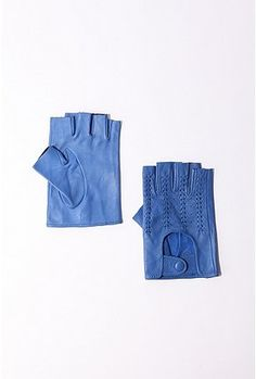light blue leather fingerless gloves, Storm Siren possibilities
