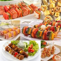 10 ideias para espetinhos - Amando Cozinhar - Receitas, dicas de culinária, decoração e muito mais!