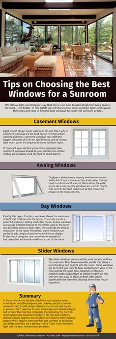 Choosing the Best Windows for a Sunroom | Canadian Choice Windows