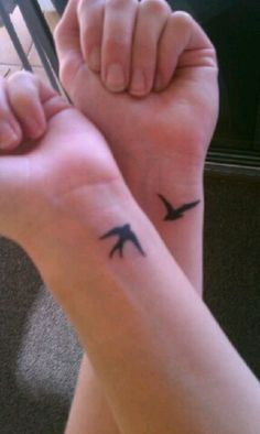 Birds of a feather...Friendship tattoo