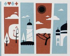 Cartes Estiu Atipus 2010 by Atipus Graphic Design , via Behance