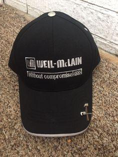 c638a2dda678d Details about Weil McClain HVAC Boiler Work Velcro Black Cap Hat