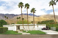 David Meister's Palm Springs home in @California Home + Design Magazine