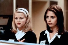 "Sarah Michelle Gellar as Kathryn Merteuil and Reese Witherspoon as Anette Hargrove in ""Cruel Intentions"" (1999)"