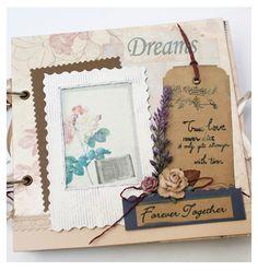 handmade scrapbook forever together Fairy corner
