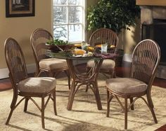 Page 4  Rattan Tables  Wicker Chairs  Rattan And Wicker Dining Amusing Indoor Wicker Dining Room Sets Review