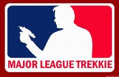 Photo of Major League Trekkie for fans of Star Trek 37899221 Star Wars, Star Trek Tos, Affiche Star Trek, Star Trek Characters, Starship Enterprise, The Final Frontier, Star Trek Universe, Love Stars, Major League