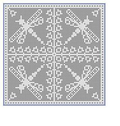 The Garden Chart Collection Crochet pattern by NezumiWorld Crochet Patterns Filet, Crochet Bookmark Pattern, Crochet Bookmarks, Crochet Diagram, Crochet Stitches, Knitting Patterns, Crochet Curtains, Crochet Tablecloth, Tapestry Crochet