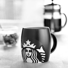 Small cup works for anyone   The white and black theme  Good way to eat to have a good amount of coffee