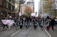 Proteste in Seattle gegen Rassenhass...