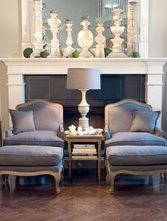 Love a Bergere chair...prefer a more modern setting, but this vignette is beauteous!