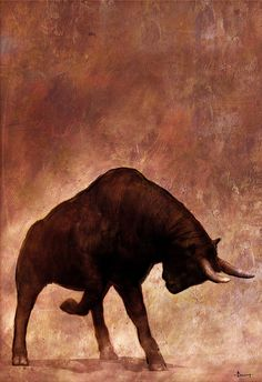 Bull fight by Riyahd Cassiem, via Behance