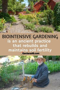 """If you could grow 2-6 times more produce and use less water, wouldn't you want to? No brainer, obvious """"YES"""", right? Biointensive gardening is the buzzword in gardening these days and for good reason. With the practical biointensive process, you can repair soil, increase yield, and save water and money."""