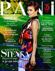 Danuta Stenka for Pani Magazine Makeup Up: Patrycja Dobrzeniecka