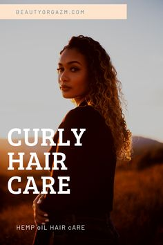Do you want to know how to take care of your curly hair? Start with Beauty Orgazm and feel the power og natural hair care products made with hemp oil. Look for our REGENERATIVE CBD HAIR SERUM and let your curly hair shine. Curly Hair Care, Natural Hair Care, Curly Hair Styles, Natural Hair Styles, Hair Care Routine, Hair Care Tips, Highlights Curly Hair, Cbd Hemp Oil, Hair Starting