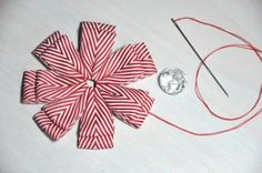 bitty bits & pieces: Ribbon Flower