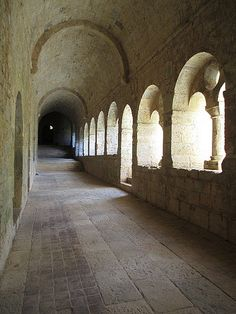 Le Thoronet Abbey and Monastery, France